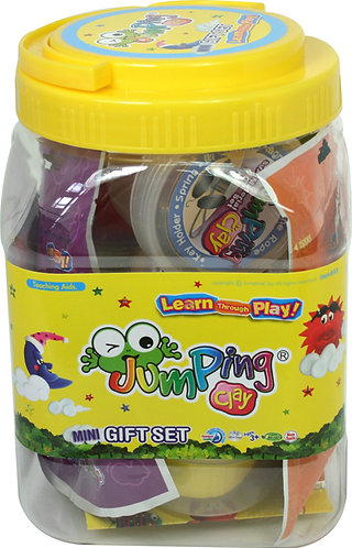 Jumping Clay Jar Set