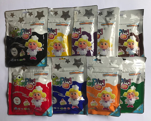 Jumping Clay 50g Refill Packs