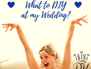How Do I Know What to DIY at My Wedding?