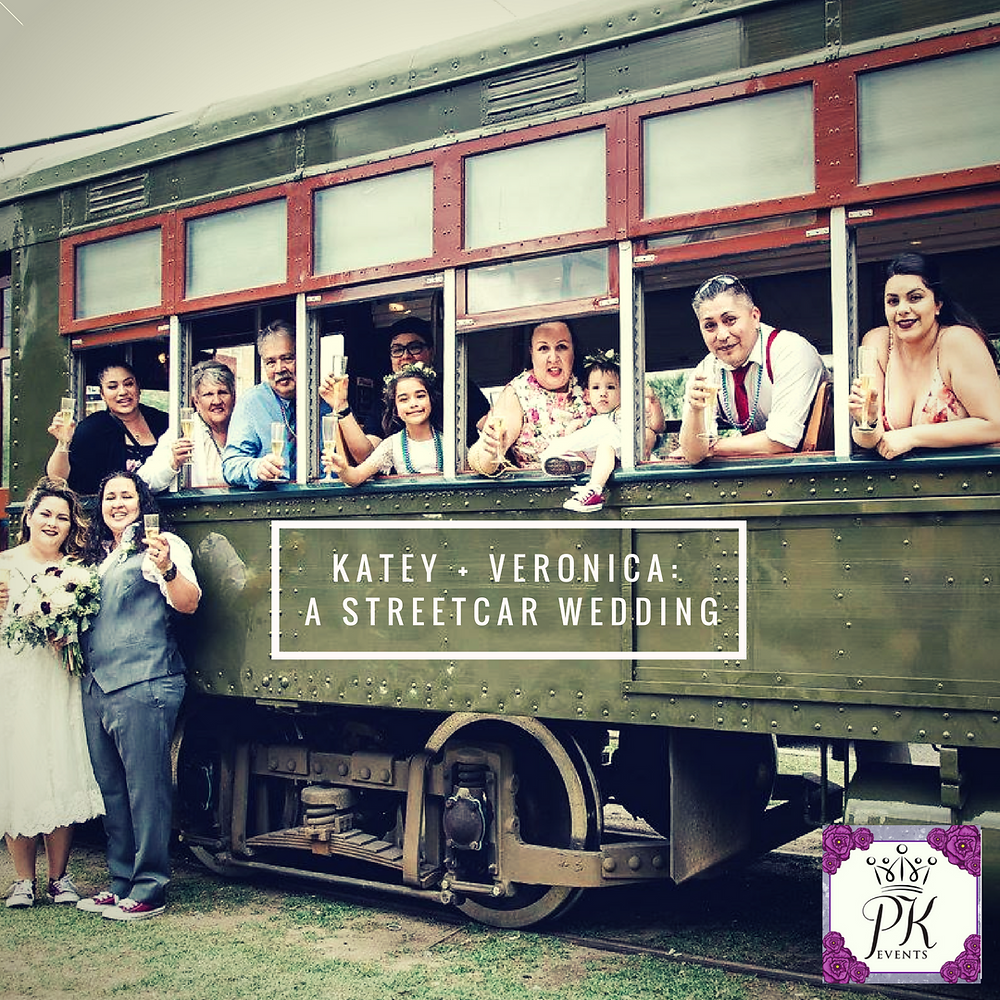 Katey & Veronica's New Orleans Street Car Wedding