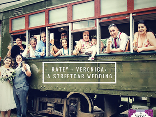 A Streetcar Named Wedding:  Katey + Veronica