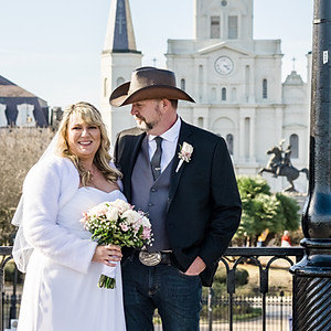 Ingrid and Duncan French Quarter Wedding