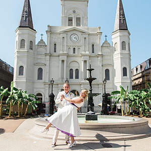 Lyndsey and Martin New Orleans French Quarter Wedding