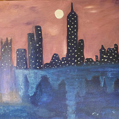 Mauve Skyline