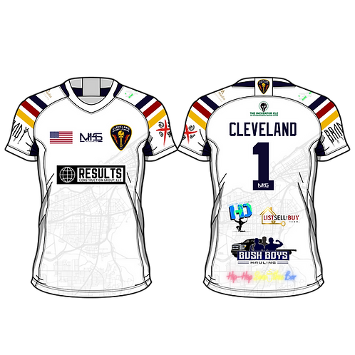 City Edition - Cleveland #1 Jersey - August Shipment