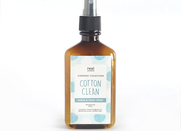 Cotton Clean Room and Linen Spray 200ml