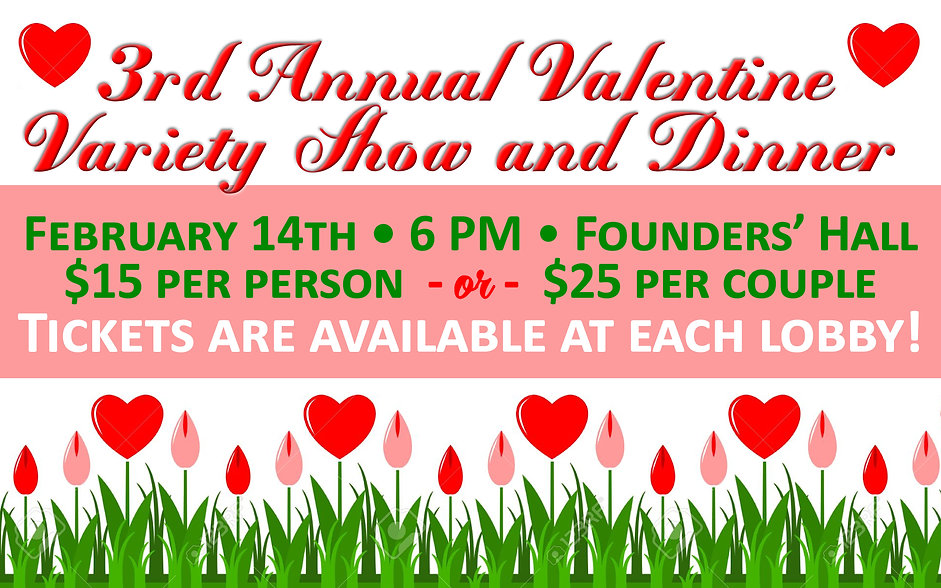 3rd Annual Valentine Variety Show