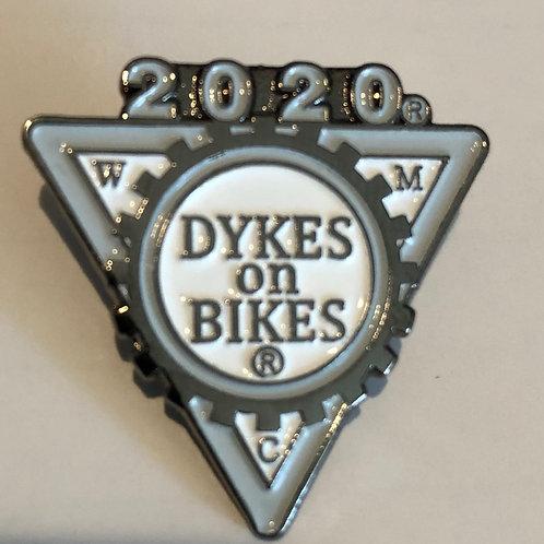 2020 Dykes on Bikes® pin