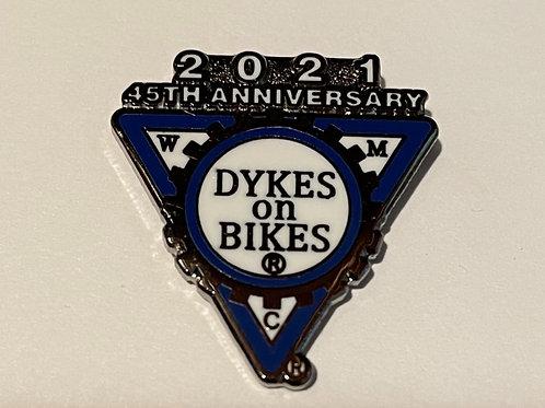 2021 45th Anniversary Pin