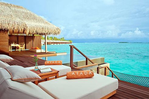 Ayada Maldives SUNSET OCEAN FAMILY SUITE