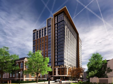 Ann Arbor Ok's construction of tallest building in 50 years