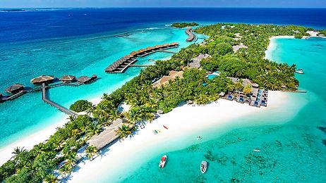 Maldives Island resort. Sheraton Maldives