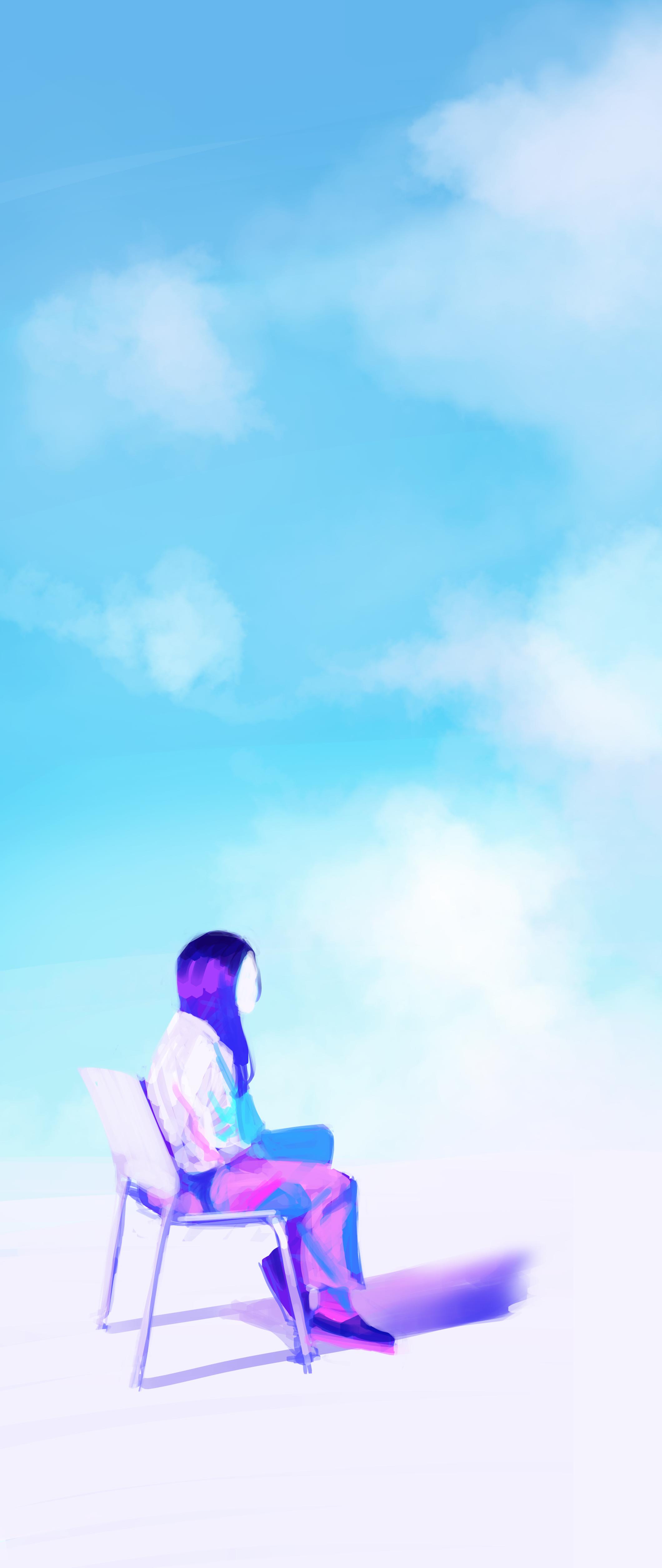 In sky
