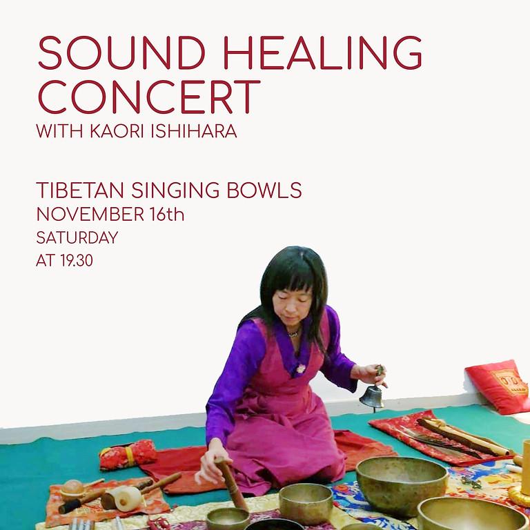 Sound Healing Concert With Kaori