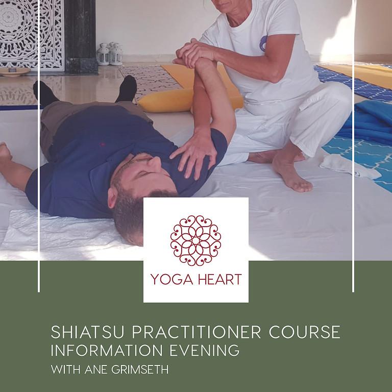 Shiatsu Practitioners Course Information session