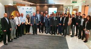 Attendees of the NIC's Second Technical Advisory Board (TAB) meeting. Photograph: NIC