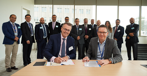 Research Agreement signing at TWI, Cambridge, UK