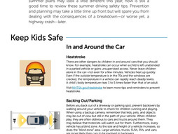 A Good Guide To Print Out Or Text To Your Favorite Young Driver.