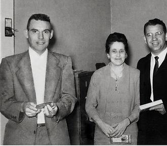 Paul and Mary Barnum with Senator Vance