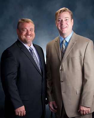 Photo of Dave and Tom Mettler