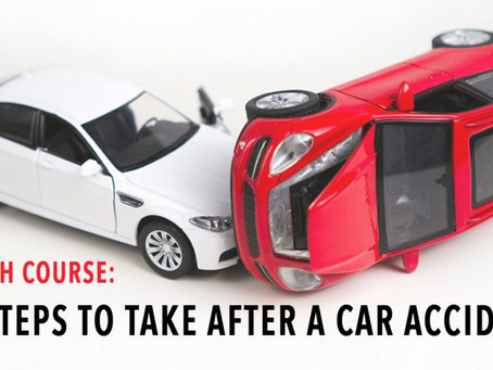 Crash course on accidents!