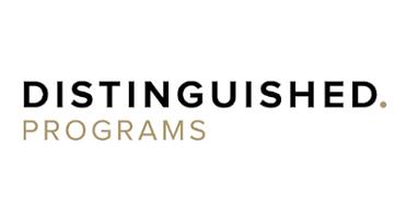 Distinguished Programs Logo