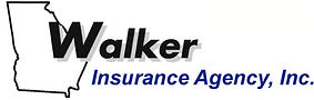 Walker Insurance Agency, Inc. Blue Logo.