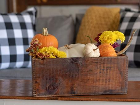 Fall home design tips