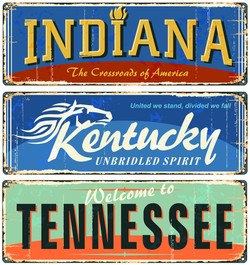Indiana_Kentucky_Tennessee_License Plate