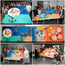 Fresque collaborative J1 du dispositif coopératif avec Alternative Thinking - The Symbolic Company