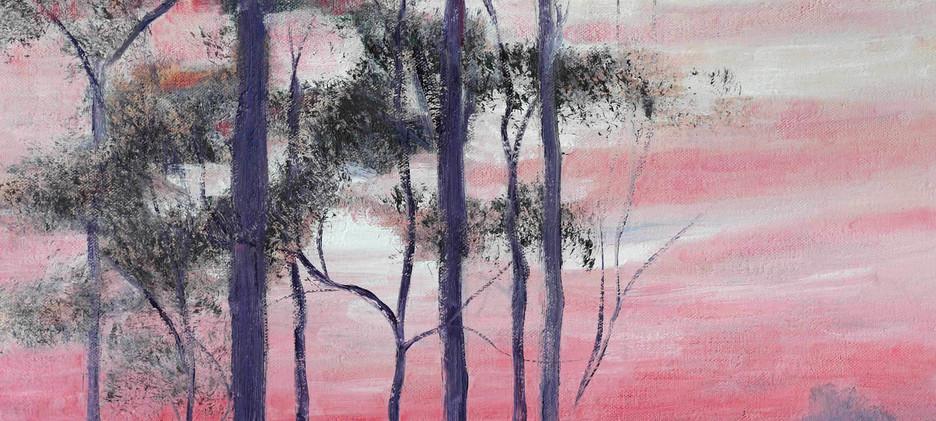 Tree Silhouette 76cm x 51cm