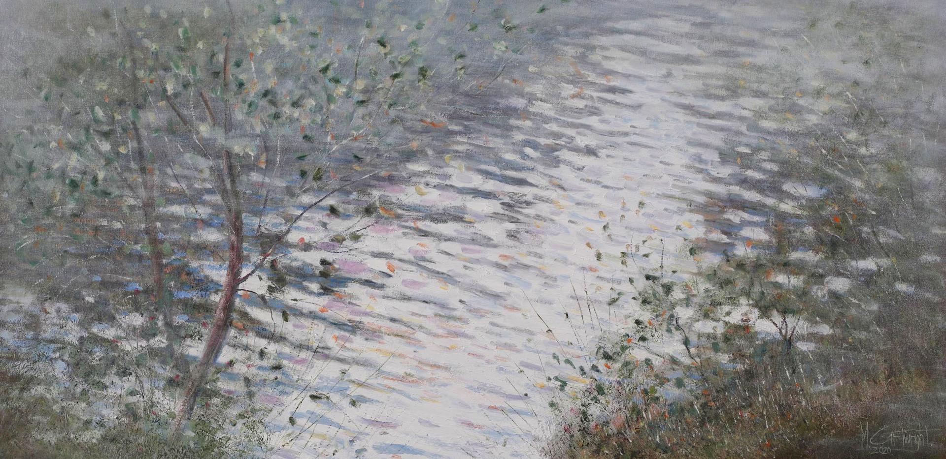 Misty River 122cm x 61cm