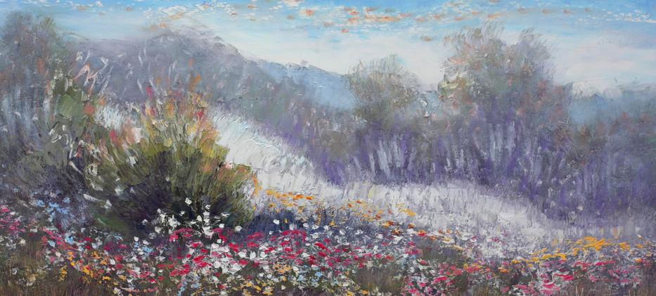 Wildflowers 91cm x 46cm