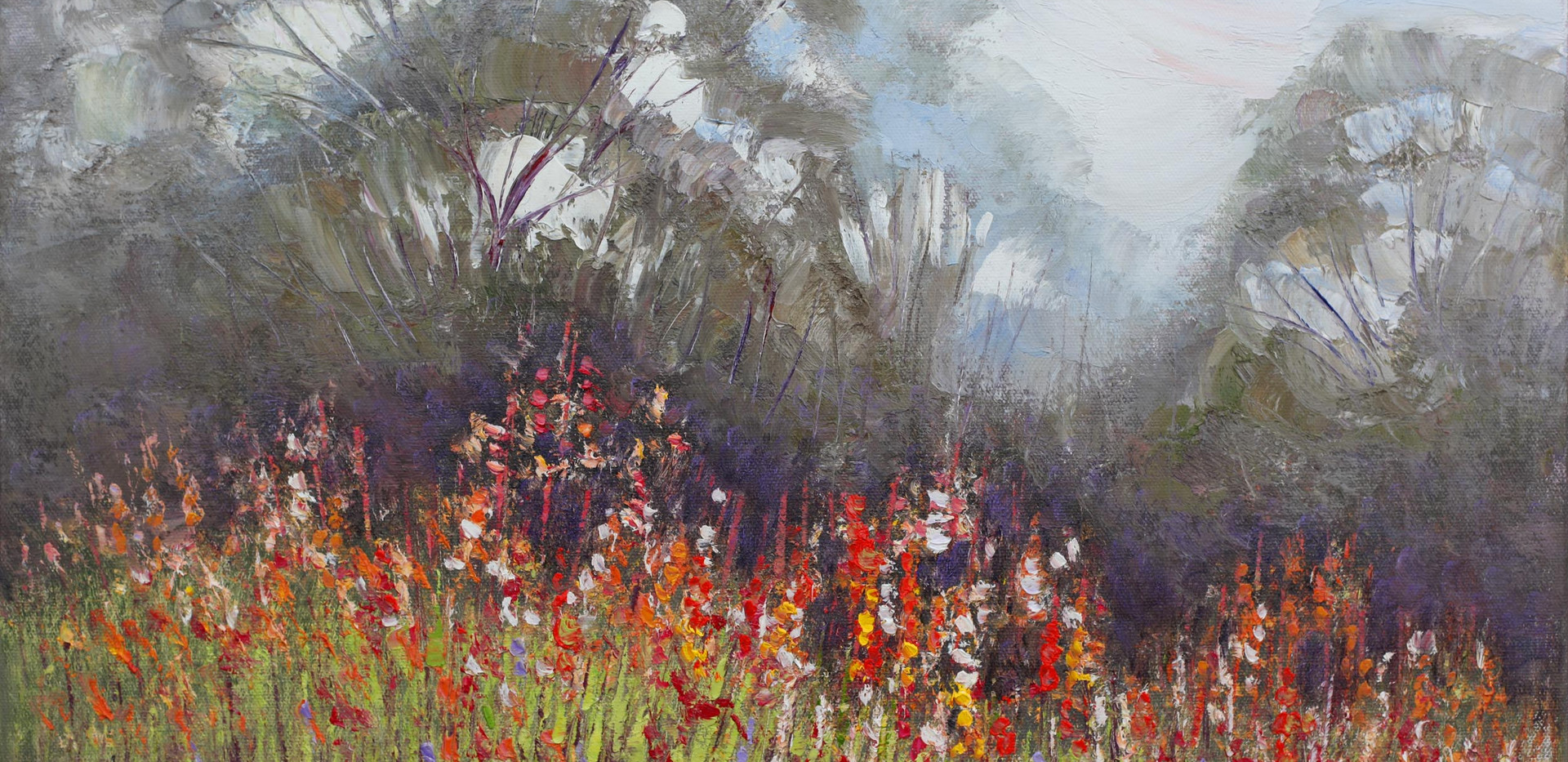 Sunshine and Wildflowers 51cm x 40cm