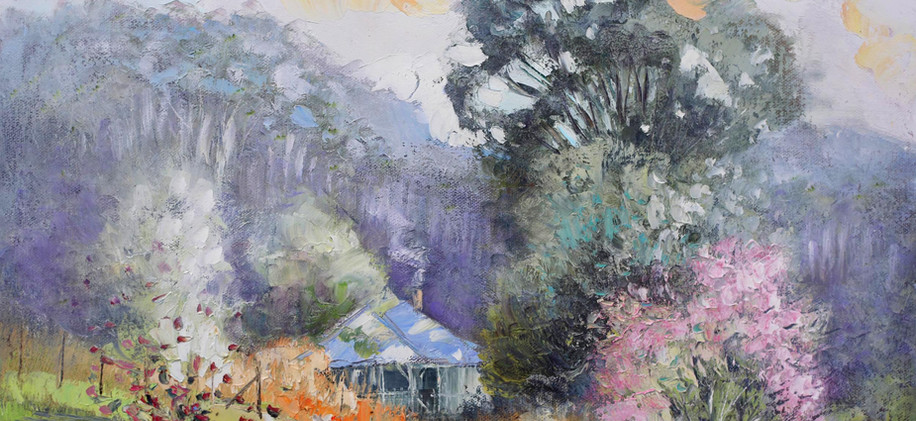 Country Cottage 51cm x 40cm