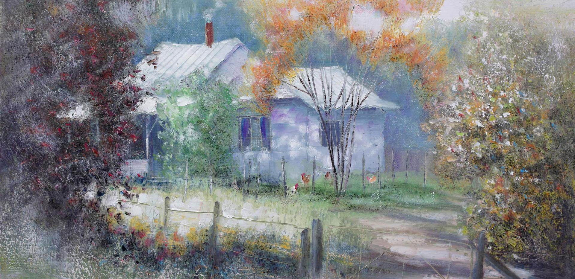 Cosy Cottage 51cm x 40cm