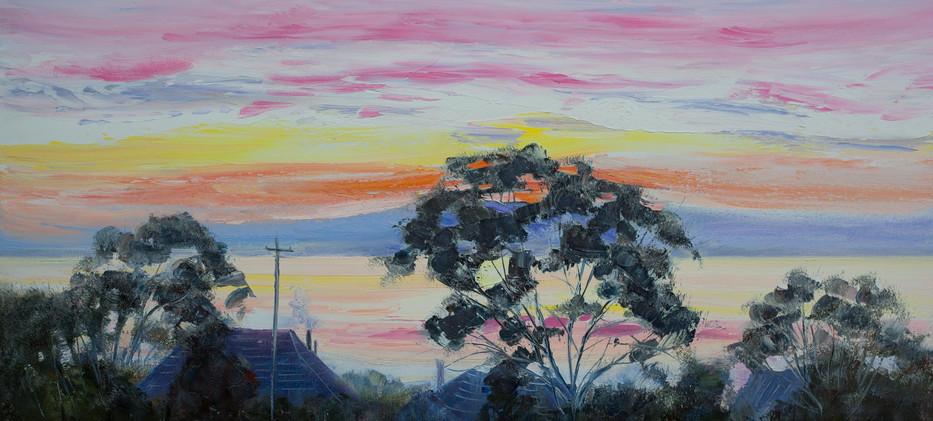 Inlet Sunset 76cm x 51cm