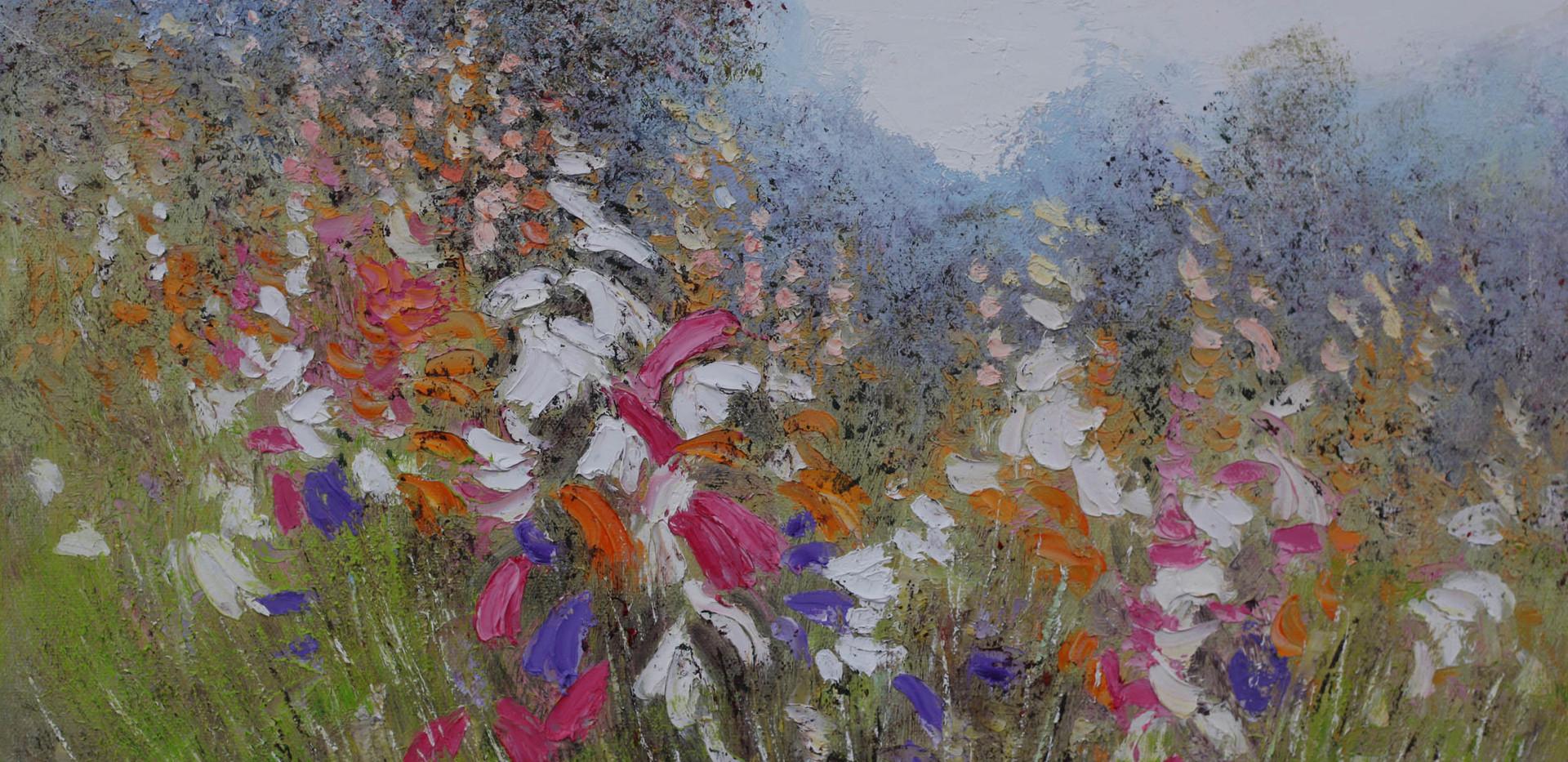 Outback Wildflowers 51cm x 40cm