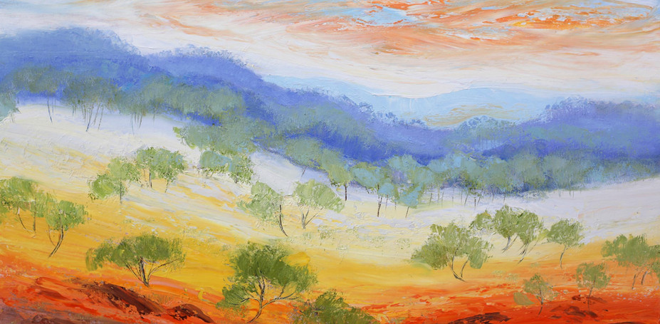 Golden Outback 92cm x 61cm