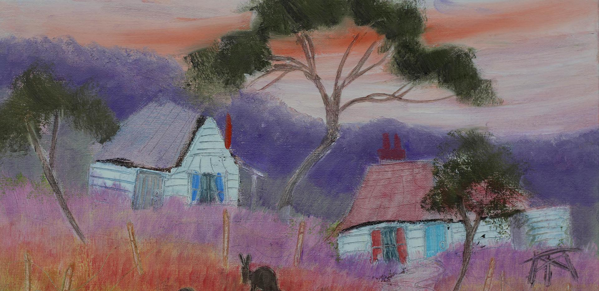 Quirky Cottages 2 - 51cm x 40cm