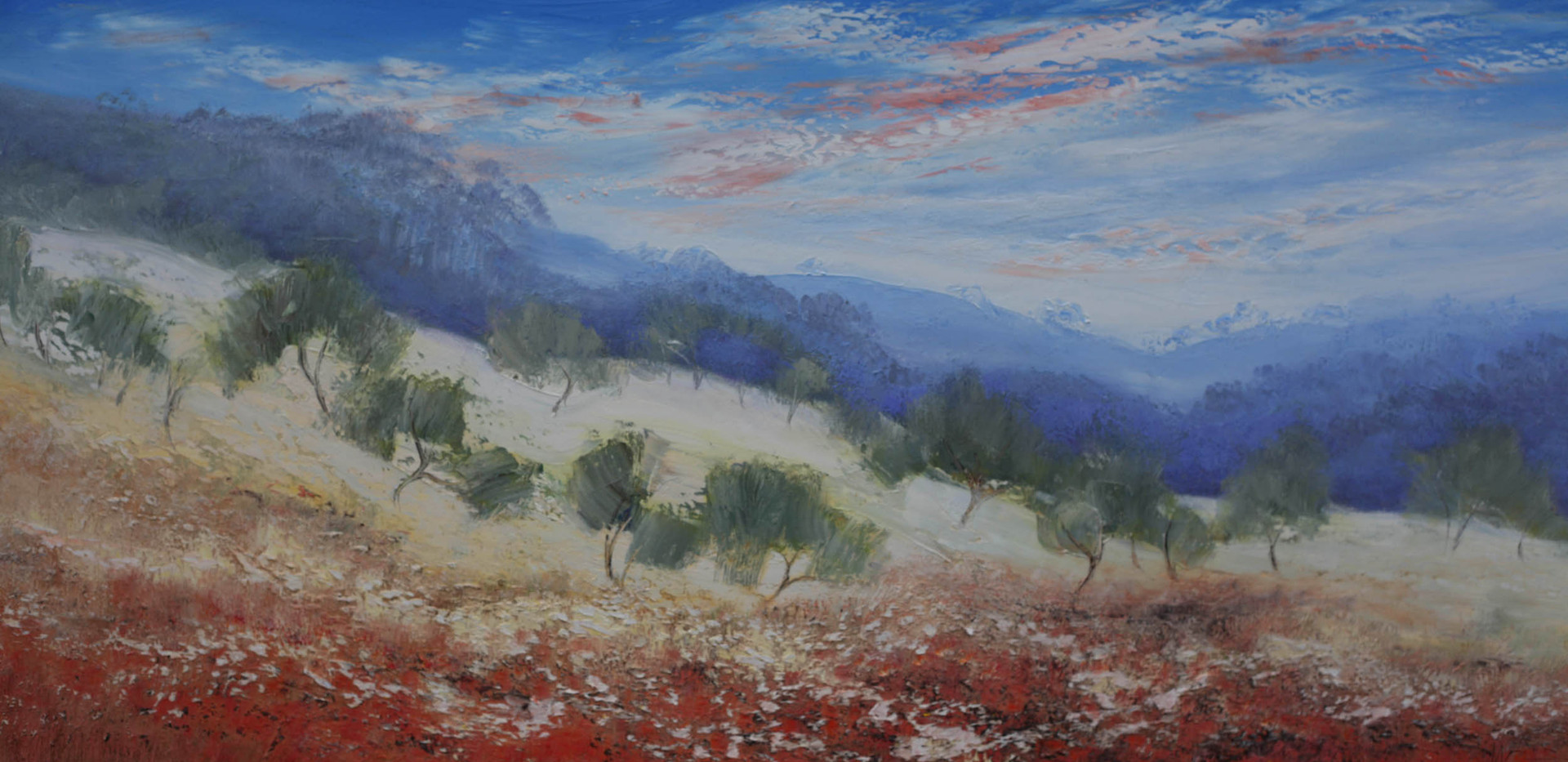 Outback Trees 122cm x 61cm