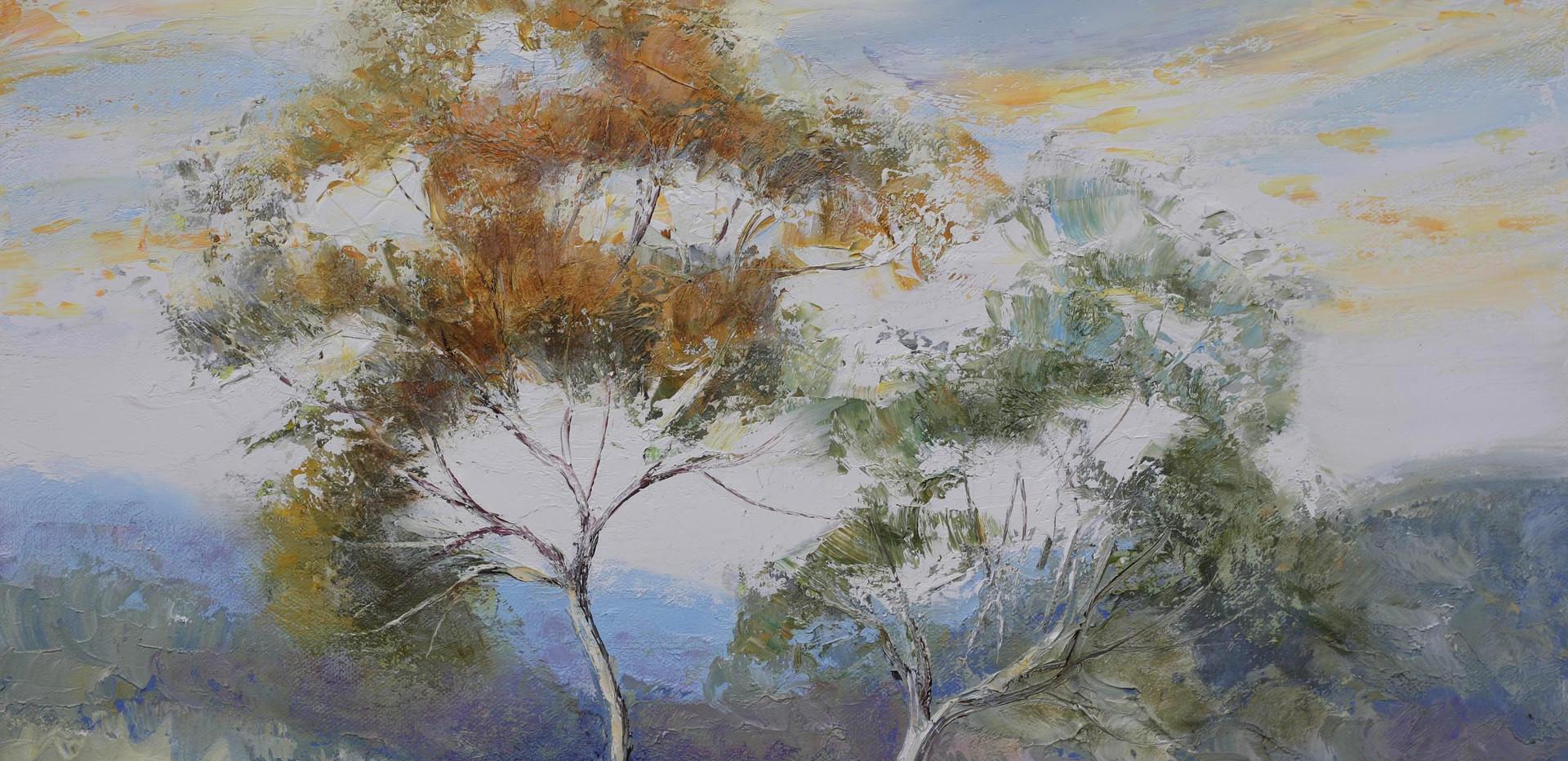 Desert Trees 51cm x 40cm