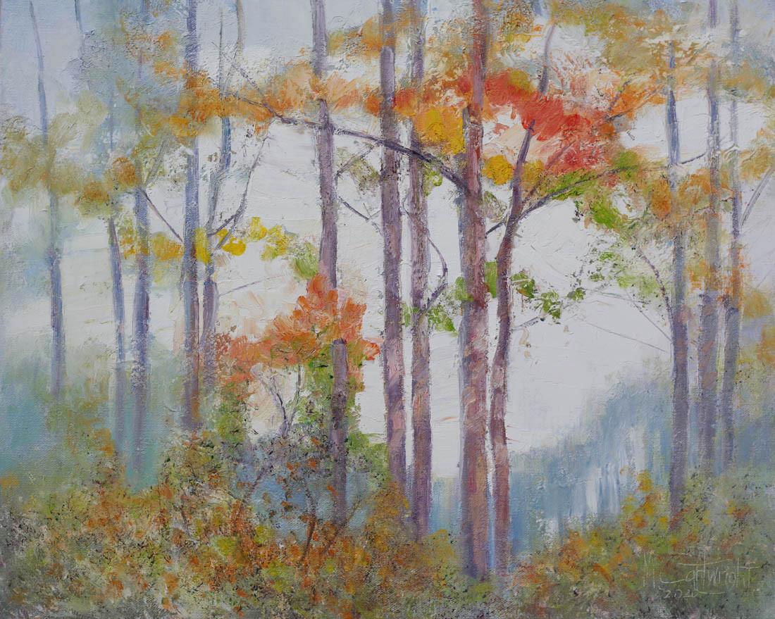 Tree Colors 51cm x 40cm