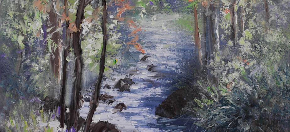 Winding River 51cm x 40cm