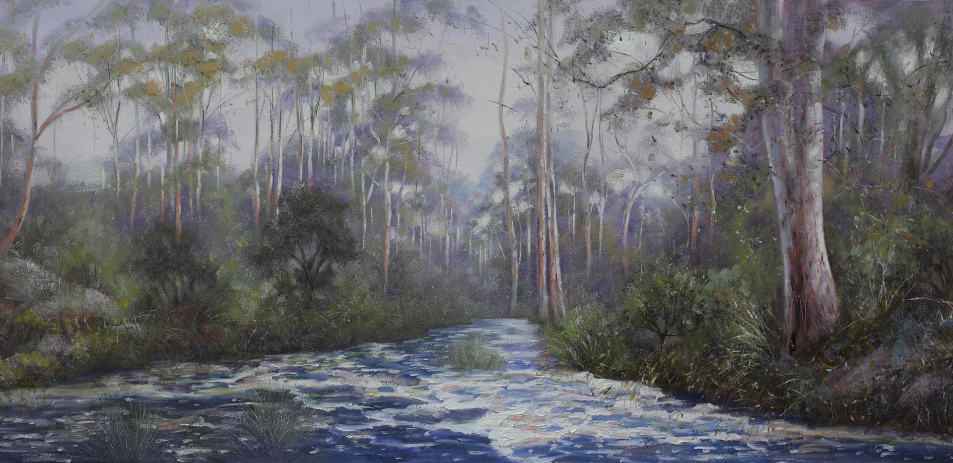 'After The Rains' 152cm x 61cm Sold