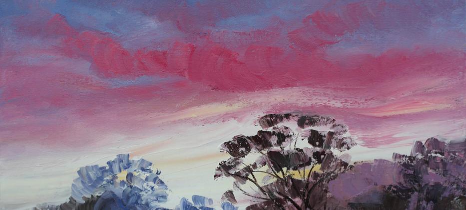 Sunrise Pink 51cm x 40cm
