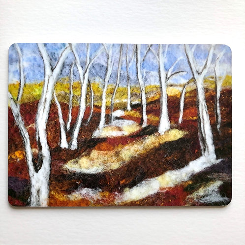 Birch forest - placemat