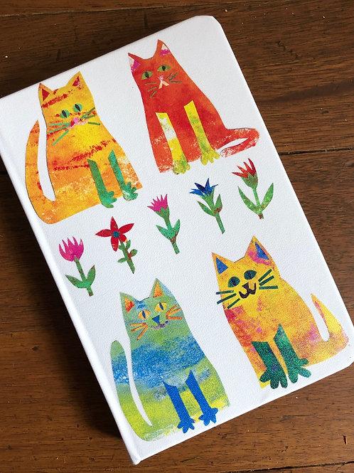 notebook cat design
