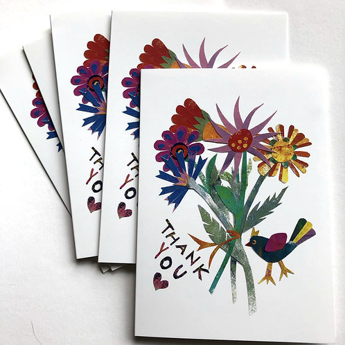 Thank you cards (pack of 5)