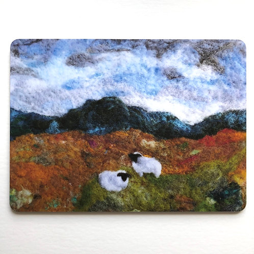 Downland View - placemat
